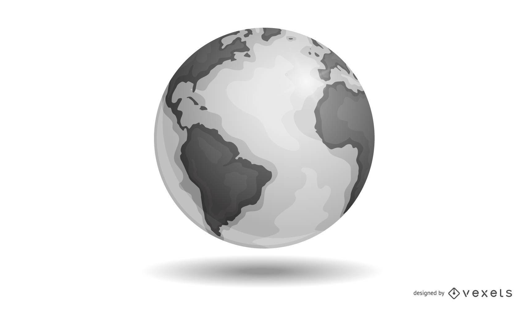 Tierra del vector