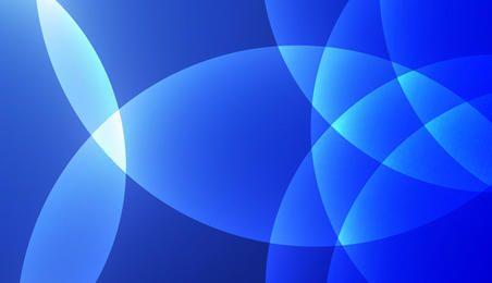 Retro blue vector background