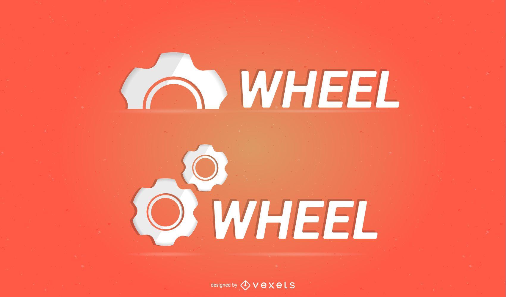 Logotipo de vector libre - engranaje