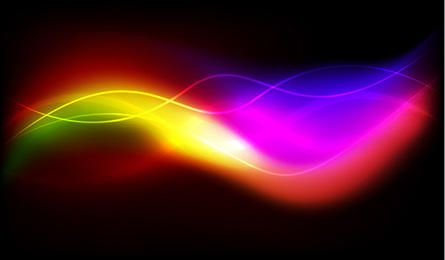 Colorful Glowing Background