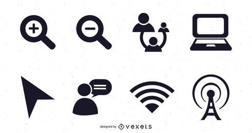 Web 2.0 vector icons