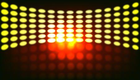 Luces coloridas de fiesta - Arte vectorial