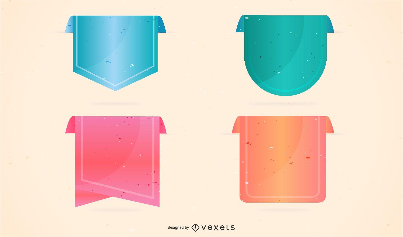 Vector labels set