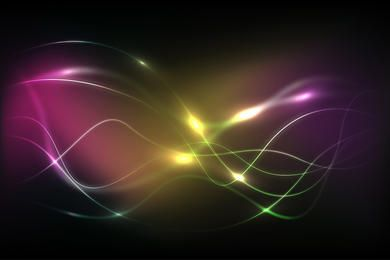 Glowing Dark Energy Background