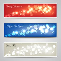 Christmas & New Year Banners