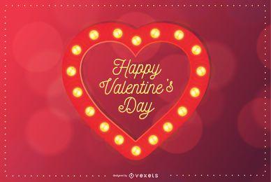 Valentinstag-Vektor-Design