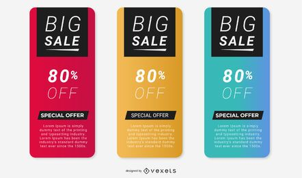 Vector Promotion Boxes
