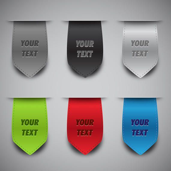 Vector Bookmark Collection
