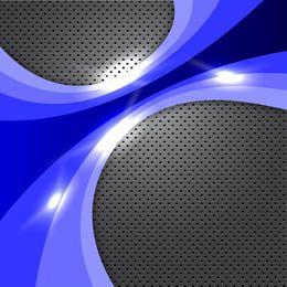 Abstrato azul brilhante