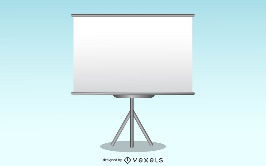 Free Vector Presentation Screen