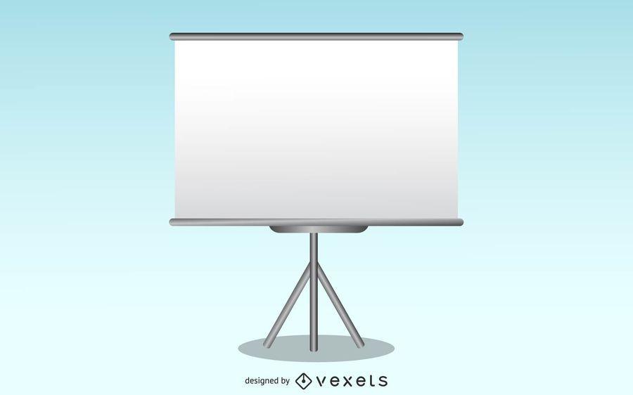 Pantalla de presentación de vectores gratis