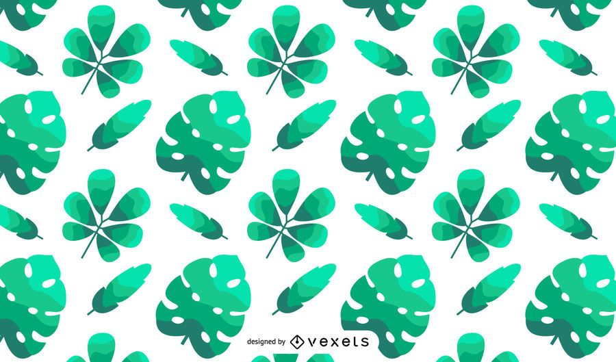 Spring Leaves Abstract Vector