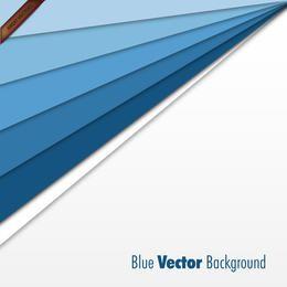 Plantilla de negocio azul abstracto