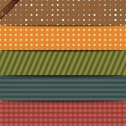 Conjunto de vector patchwork