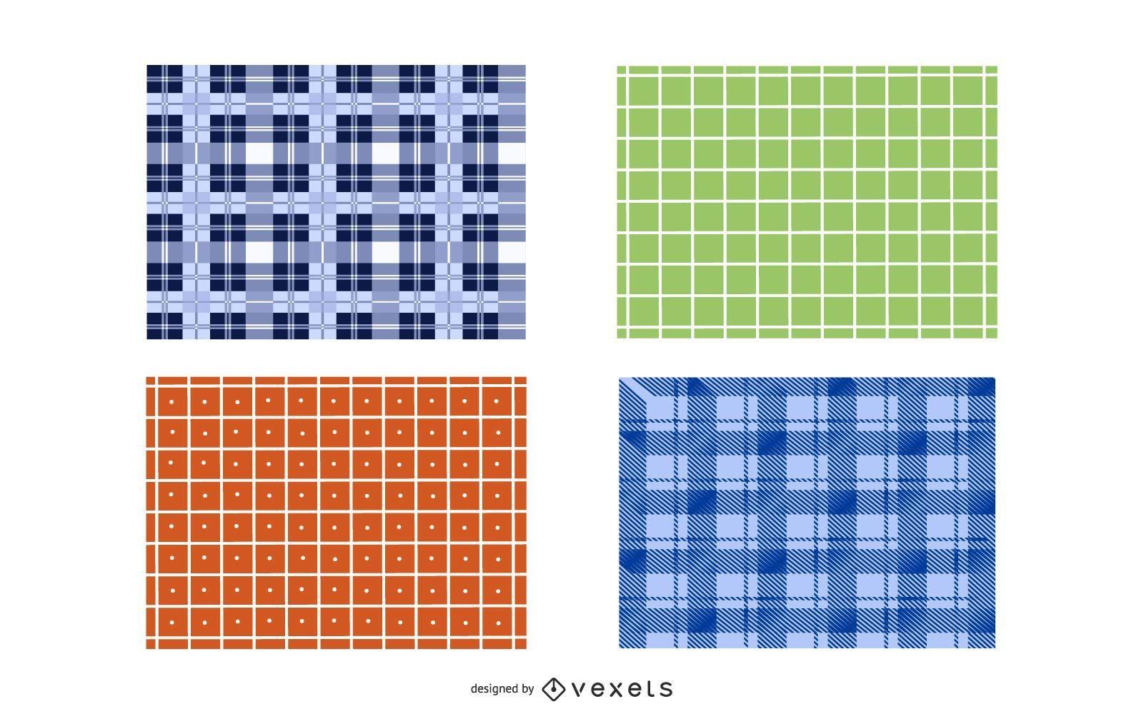 Vector conjunto de patchwork