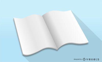 Vector Magazine blanco