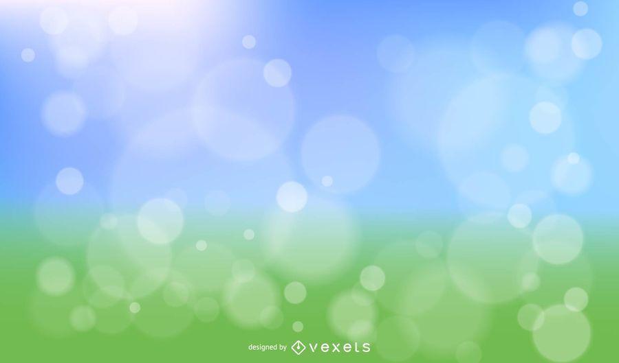 Spring Bokeh Free Vector
