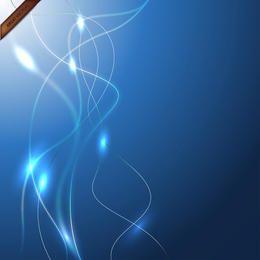 Papel pintado azul - fondo