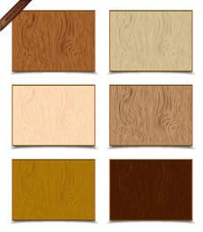Vector Wood Texture Set