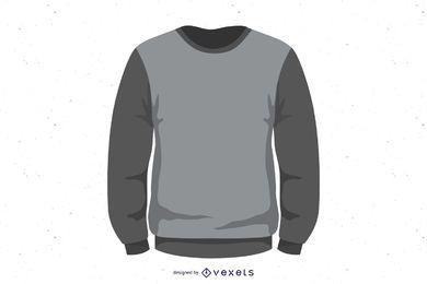 Sweater illustration design