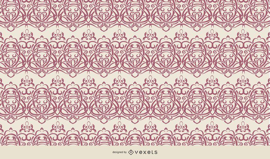 Seamless Arabesque Wallpaper