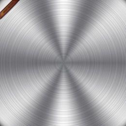 Round Metal Texture