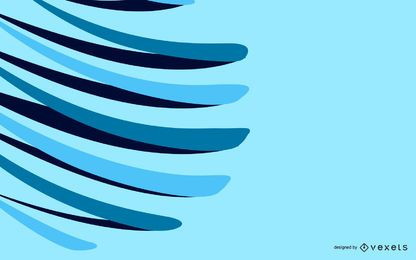 Vector blue background abstract