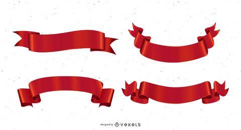 Banderas del vector