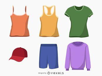 Vectores de ropa