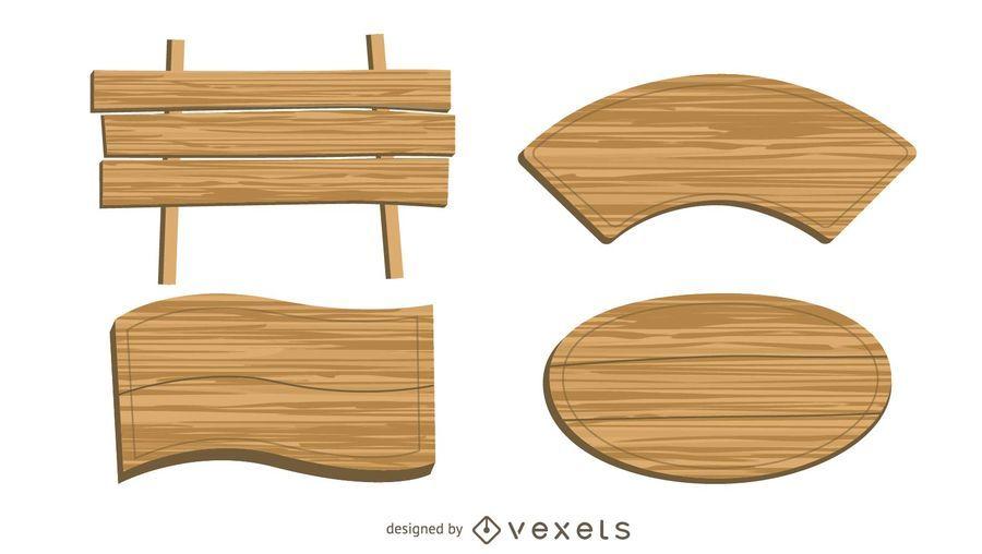Banners de madera