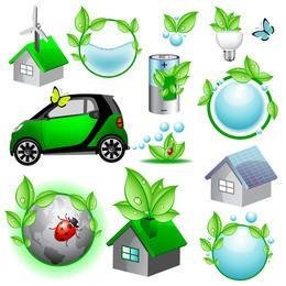 Vector Eco Iconos