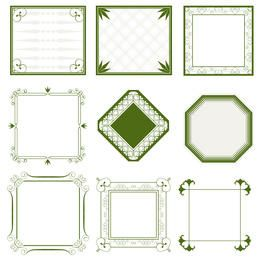Ornate frames collection