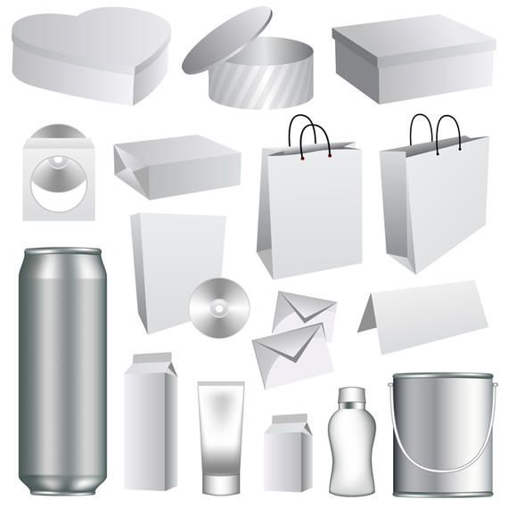 Vector Packaging Templates