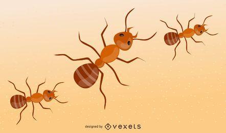 Vector hormiga