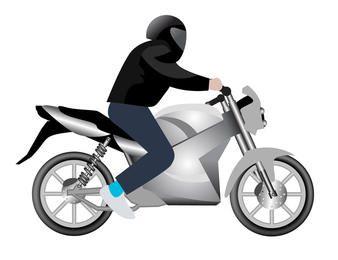 Motocicleta de vetor