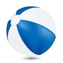 Vector bola de praia