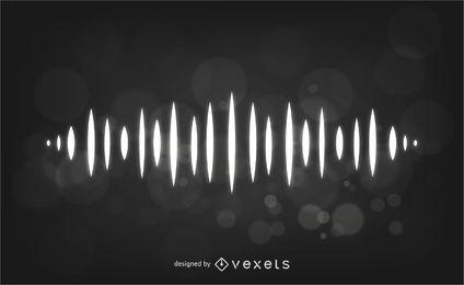 Equalizer Wave Hintergrund
