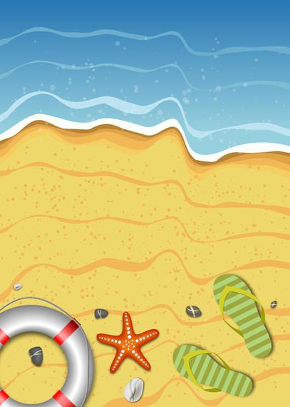Summer Beach Relax Background