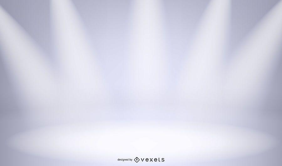 Etapas de estudio con luces