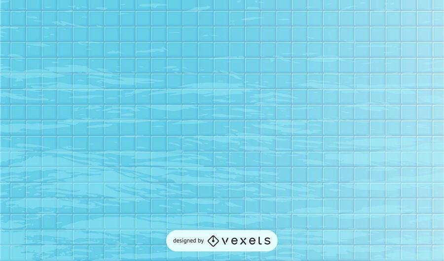 Reflektierendes Poolwasser