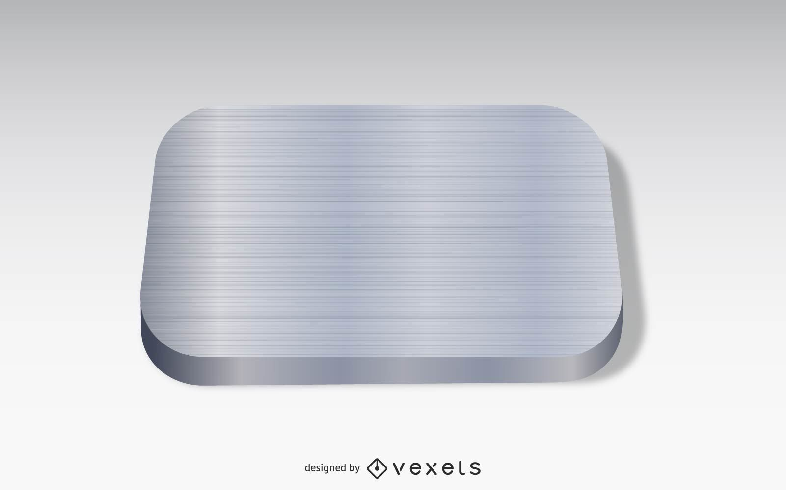 Icono de la aplicación de metal