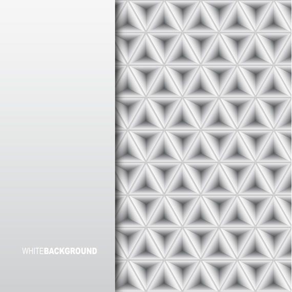 Minimalistic White Background