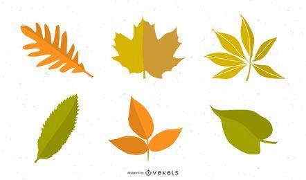Folhas de outono de vetor