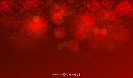 Fondo de Navidad rojo brillo