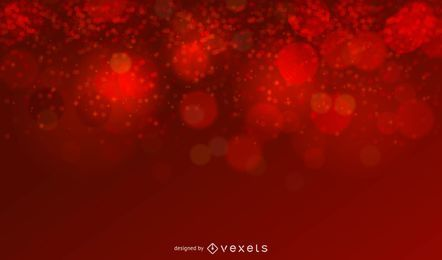 Red Glitter Christmas Background