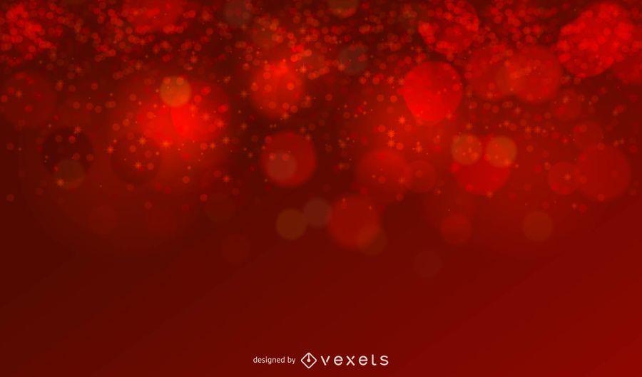 Roter Funkeln-Weihnachtshintergrund