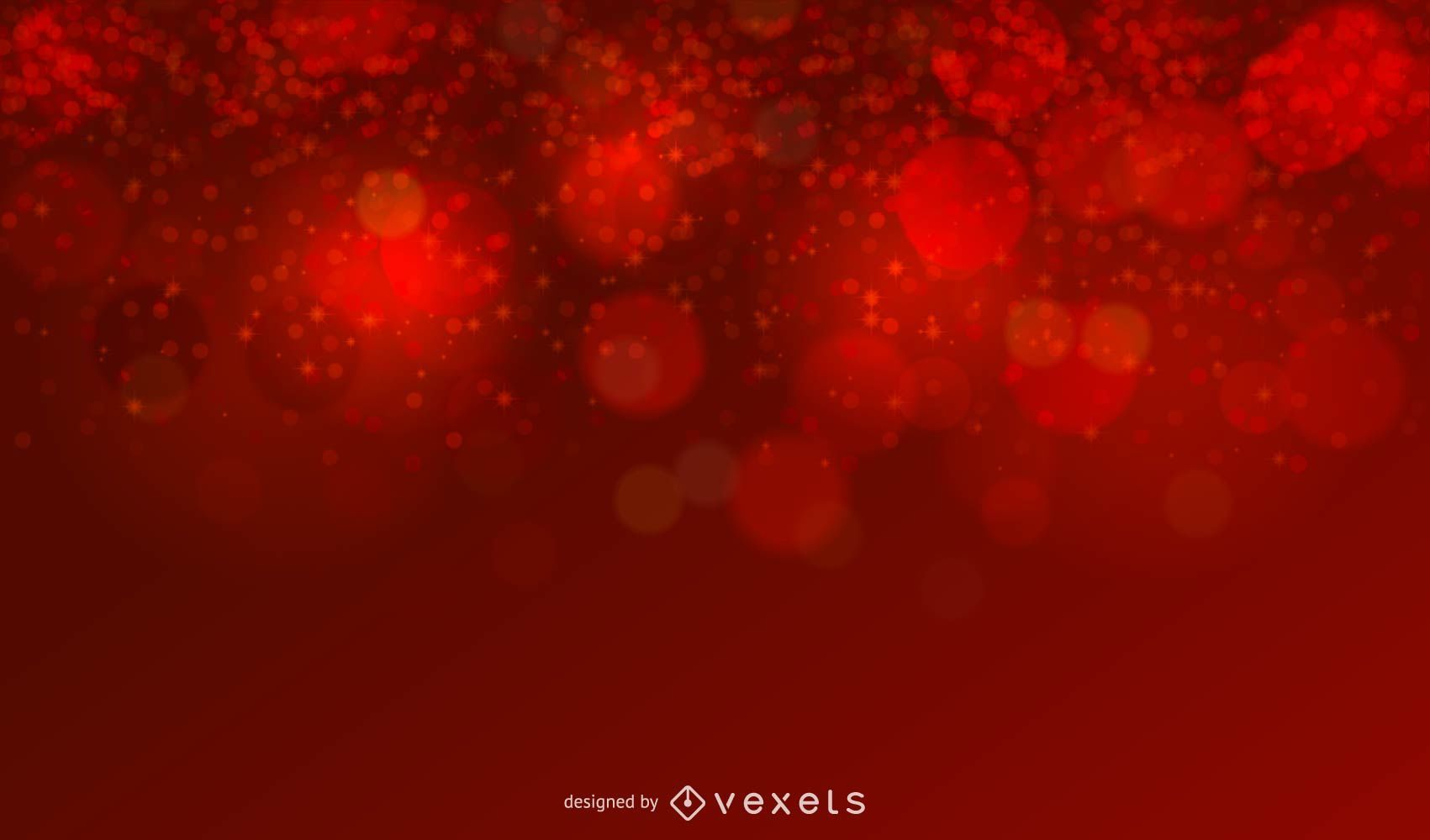 Christmas Red Glitter Background