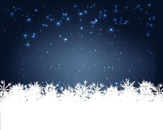 Vector tarjeta de invierno