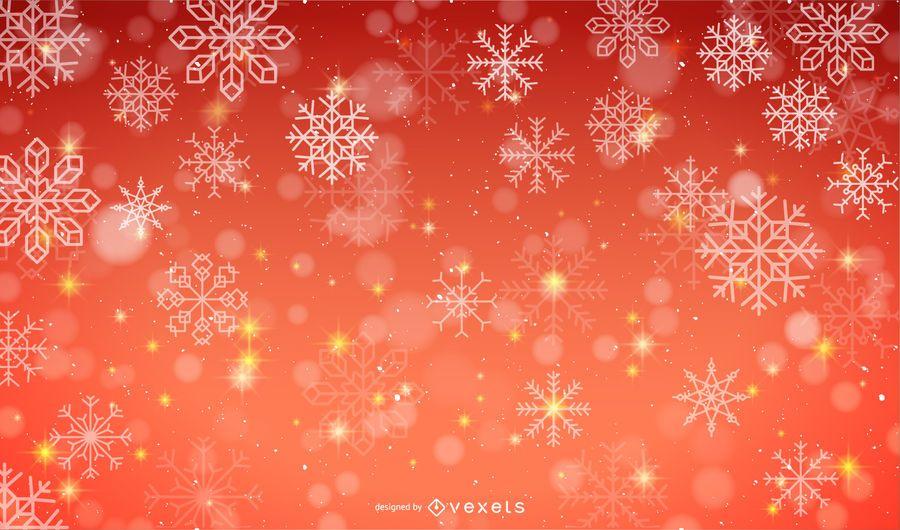 Vektor Schnee Hintergrund