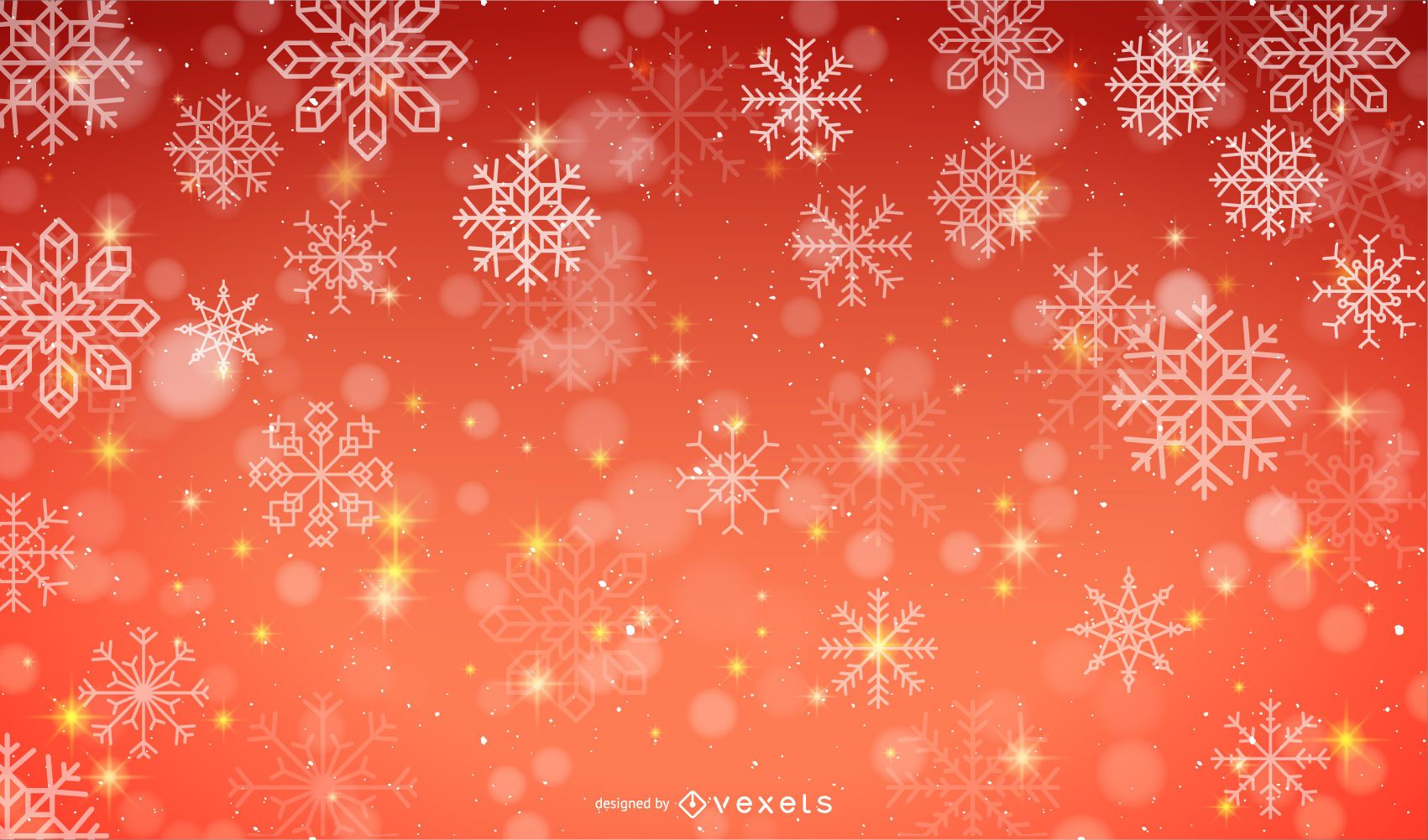 Vector Snow Background